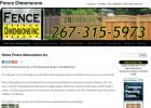 Fence Dimensions | Fencing Company | Installation | Repair | 30 Years Experience